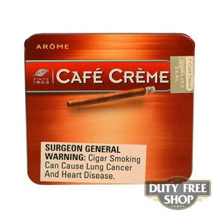 Пачка сигарилл Cafe Creme Arome 20 cigars Duty Free