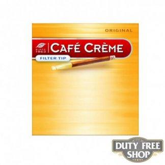 Пачка сигарилл Cafe Creme Filter Tip Original 10 cigars Duty Free