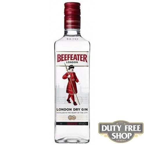 Джин Beefeater London Dry Gin 47% 1L Duty Free