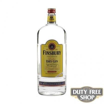 Джин Finsbury London Dry Gin 60% 1L Duty Free