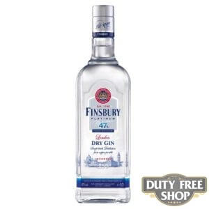 Джин Finsbury Platinum London Dry Gin 47% 1L Duty Free