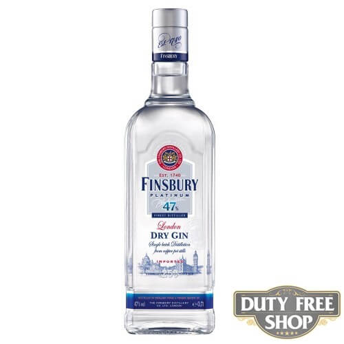 Джин Finsbury Platinum London Dry Gin 47% 1L Duty Free