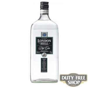 Джин London Hill Dry Gin 43% 1L Duty Free