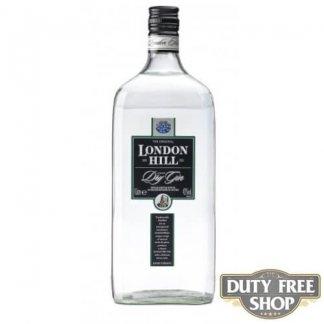 Джин London Hill Dry Gin 43% 1L Duty Free