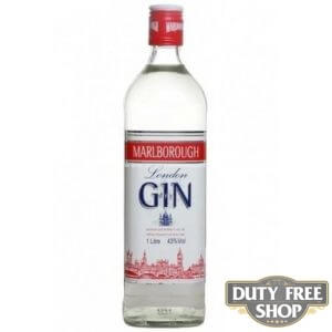 Джин Marlborough London Dry Gin 37.5% 1L Duty Free