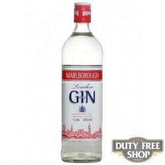 Джин Marlborough London Dry Gin 37.5% 1L Duty Free