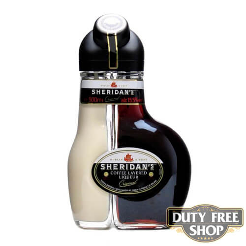 Ликер Sheridan's Coffee Layered Liqueur 15.5% 1L Duty Free