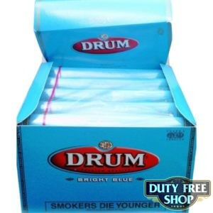 Блок табака для самокруток DRUM Bright Blue 5x50g Duty Free