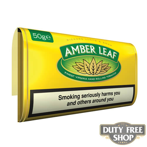 Пачка табака для самокруток Amber Leaf Original Blend 50g Duty Free