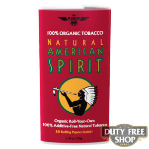 Пачка табака для самокруток American Spirit 100% Organic Blend (Red) USA 40g