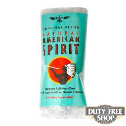 Пачка табака для самокруток American Spirit Original Blend (Blue) USA 30g
