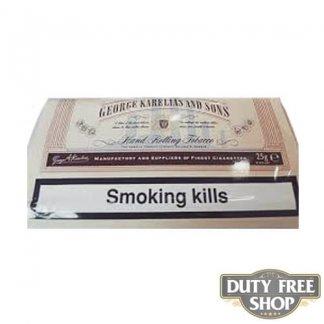 Пачка табака для самокруток George Karelias and Sons Normal 25g Duty Free
