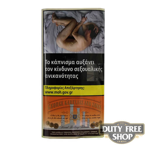 Пачка табака для самокруток George Karelias and Sons Oriental Mist 30g Duty Free