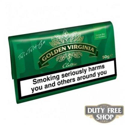 Пачка табака для самокруток Golden Virginia Classic 50g Duty Free