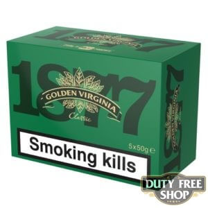 Блок табака для самокруток Golden Virginia Classic 5x50g Duty Free