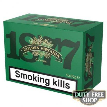 Блок табака для самокруток Golden Virginia Classic 5x50g Duty Free