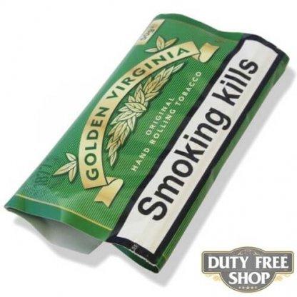 Пачка табака для самокруток Golden Virginia Original 50g Duty Free