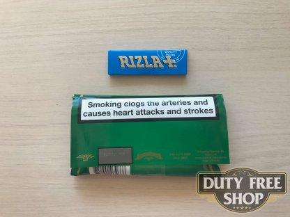 Живое фото пачки табака для самокруток Golden Virginia Original 50g Duty Free