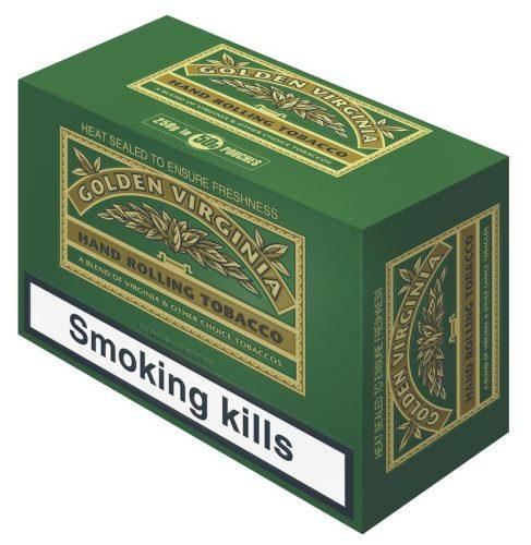 Блок табака для самокруток Golden Virginia Original 5x50g Duty Free