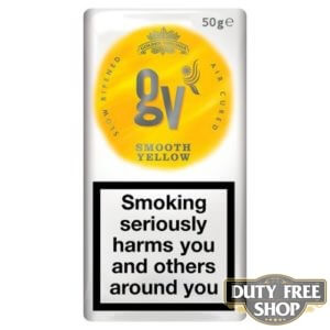 Пачка табака для самокруток GV Bright Yellow (Golden Virginia) 50g Duty Free