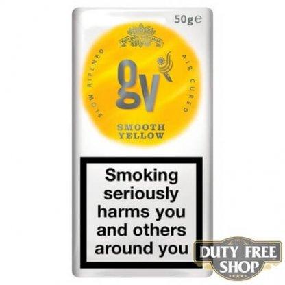 Пачка табака для самокруток GV Bright Yellow (Golden Virginia) 50g Duty Free