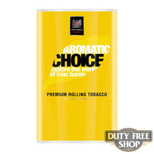 Пачка табака для самокруток Mac Baren Aromatic Choise 40g Duty Free