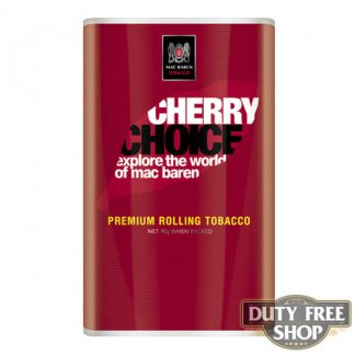Пачка табака для самокруток Mac Baren Cherry Choise 40g Duty Free