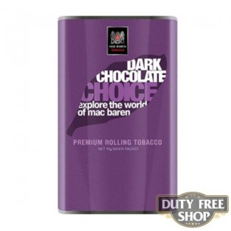 Пачка табака для самокруток Mac Baren Dark Chocolate Choise 40g Duty Free