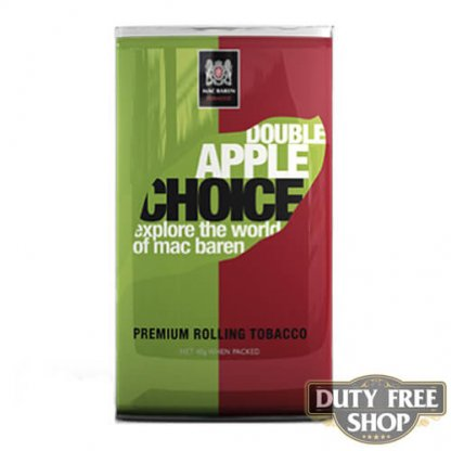 Пачка табака для самокруток Mac Baren Double Apple Choise 40g Duty Free