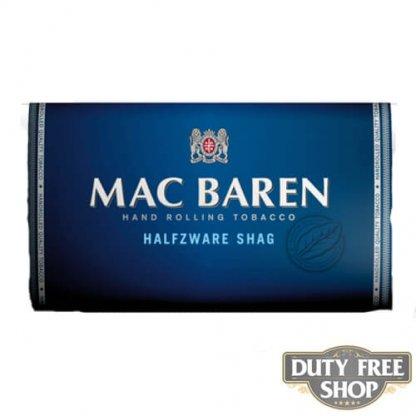 Пачка табака для самокруток Mac Baren Halfzware Shag 30g Duty Free