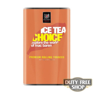 Пачка табака для самокруток Mac Baren Ice Tea Choise 40g Duty Free