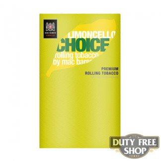 Пачка табака для самокруток Mac Baren Limoncello Choise 40g Duty Free