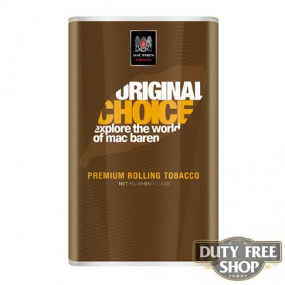Пачка табака для самокруток Mac Baren Original Choise 40g Duty Free