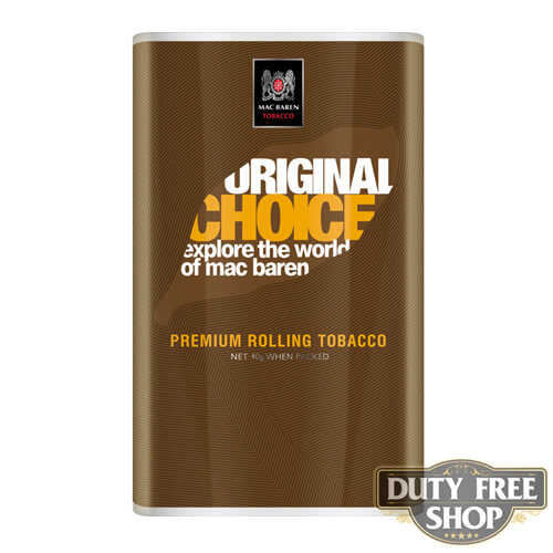 Пачка табака для самокруток Mac Baren Original Choise 40g Duty Free