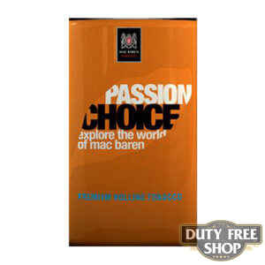Пачка табака для самокруток Mac Baren Passion Choise 40g Duty Free