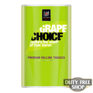 Пачка табака для самокруток Mac Baren Grape Choise 40g Duty Free