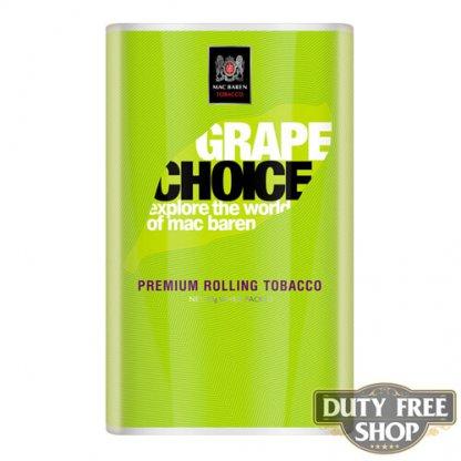 Пачка табака для самокруток Mac Baren Grape Choise 40g Duty Free