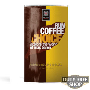 Пачка табака для самокруток Mac Baren Rum Coffe Choise 40g Duty Free