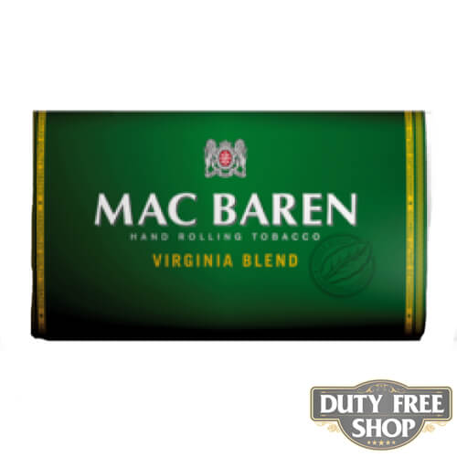 Пачка табака для самокруток Mac Baren Virginia Blend 30g Duty Free