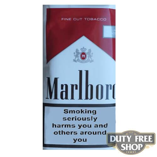 Пачка табака для самокруток Marlboro Red Fine Cut Tobacco 50g Duty Free