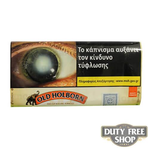 Пачка табака для самокруток Old Holborn Blonde 40g Duty Free