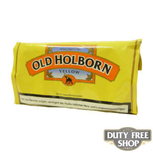 Пачка табака для самокруток Old Holborn Yellow 25g Duty Free