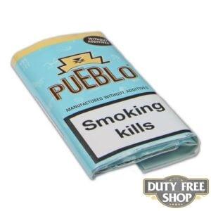 Пачка табака для самокруток Pueblo Blue 50g Duty Free