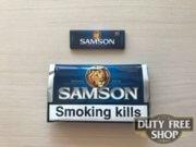 Живое фото пачки табака для самокруток Samson Original Blend 50g Duty Free