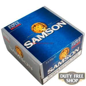 Блок табака для самокруток Samson Original Blend 5x50g Duty Free