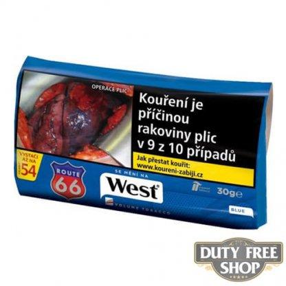 Пачка табака для самокруток West Blue 30g Duty Free