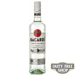 Ром Bacardi Carta Blanca (Superior) 40% 1L Duty Free