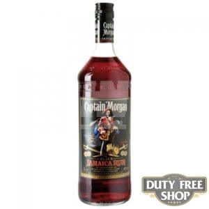 Ром Captain Morgan Black Jamaica Rum 40% 1L Duty Free