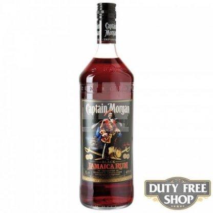 Ром Captain Morgan Black Jamaica Rum 40% 1L Duty Free