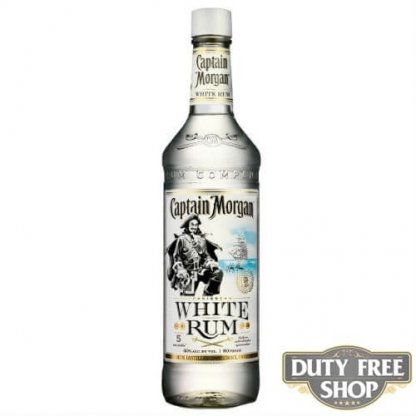 Ром Captain Morgan White Rum 37.5% 1L Duty Free